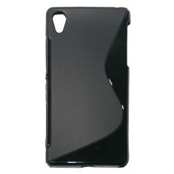 Sony Xperia Z2 - Gumiran ovitek (TPU) - črn SLine