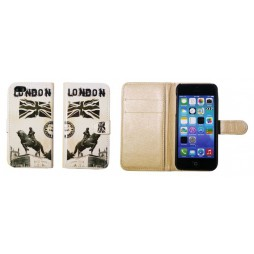Apple iPhone 5/5S/SE - Preklopna torbica (41) - London
