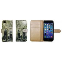Apple iPhone 5/5S/SE - Preklopna torbica (41) - London Tower bridge