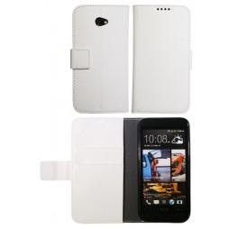 HTC Desire 601 Zara - Preklopna torbica (WLG) - bela
