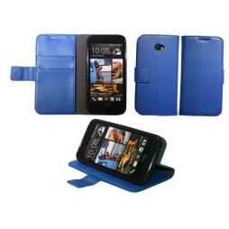 HTC Desire 601 Zara - Preklopna torbica (WLG) - modra