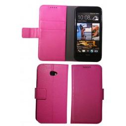 HTC Desire 601 Zara - Preklopna torbica (WLG) - roza