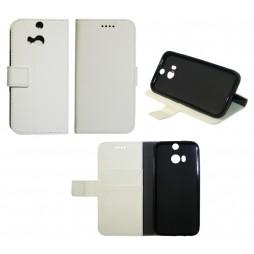 HTC One M8 - Preklopna torbica (WLG) - bela