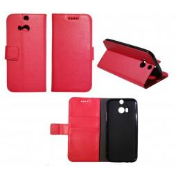 HTC One M8 - Preklopna torbica (WLG) - rdeča