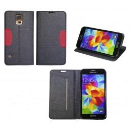Samsung Galaxy S5/S5 Neo - Preklopna torbica (47G) - črna