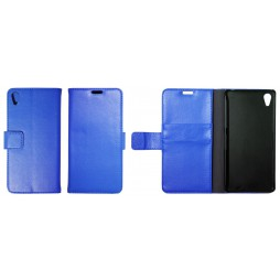 Sony Xperia Z2 - Preklopna torbica (WL) - modra
