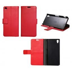 Sony Xperia Z2 - Preklopna torbica (WL) - rdeča