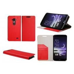 LG G Flex - Preklopna torbica (HT) - rdeča