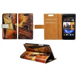 HTC Desire 300 - Preklopna torbica (WLP) - Paris