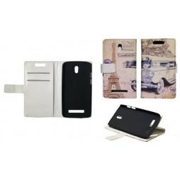 HTC Desire 500 - Preklopna torbica (WLP) - Car