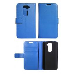 LG G2 mini - Preklopna torbica (WL) - modra