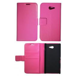 Sony Xperia M2 - Preklopna torbica (WL) - roza