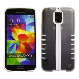 Samsung Galaxy S5/S5 Neo - Okrasni pokrovček (49) - bel