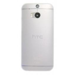 HTC One M8 - Okrasni pokrovček (16) - belo-prosojen