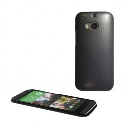 HTC One M8 - Okrasni pokrovček (50) - črn