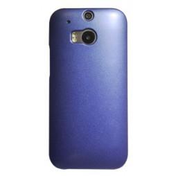 HTC One M8 - Okrasni pokrovček (50) - moder