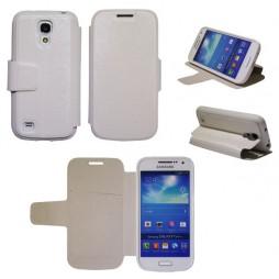 Samsung Galaxy S4 Mini - Preklopna torbica (28G) - bela