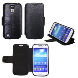 Samsung Galaxy S4 Mini - Preklopna torbica (28G) - črna