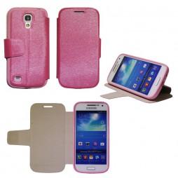 Samsung Galaxy S4 Mini - Preklopna torbica (28G) - roza