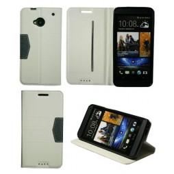 HTC One - Preklopna torbica (47G) - bela
