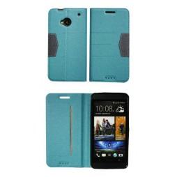 HTC One - Preklopna torbica (47G) - turkizna