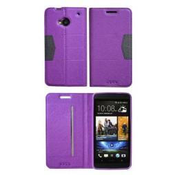HTC One - Preklopna torbica (47G) - vijolična