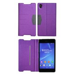 Sony Xperia Z2 - Preklopna torbica (47G) - vijolična