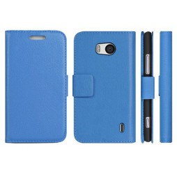 Nokia Lumia 930 - Preklopna torbica (WL) - modra