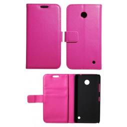 Nokia Lumia 630/635 - Preklopna torbica (WL) - roza