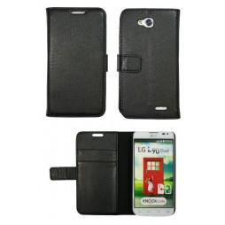 LG L90 - Preklopna torbica (WL) - črna