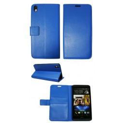 HTC Desire 816 - Preklopna torbica (WL) - modra