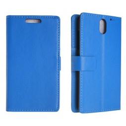 HTC Desire 610 - Preklopna torbica (WL) - modra