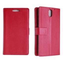 HTC Desire 610 - Preklopna torbica (WL) - rdeča