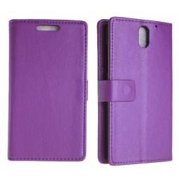 HTC Desire 610 - Preklopna torbica (WL) - vijolična