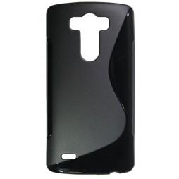 LG G3 - Gumiran ovitek (TPU) - črn SLine