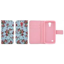 Samsung Galaxy S4 Mini - Preklopna torbica (WLGP) - Blue flowers