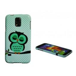 Samsung Galaxy S5/S5 Neo - Gumiran ovitek (TPUP) - Owl
