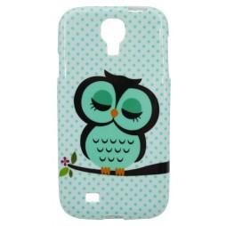 Samsung Galaxy S4 - Gumiran ovitek (TPUP) - Owl