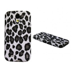 Samsung Galaxy S4 - Gumiran ovitek (TPUP) - White leopard