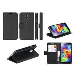 Samsung Galaxy S5 Mini - Preklopna torbica (WL) - črna