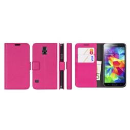 Samsung Galaxy S5 Mini - Preklopna torbica (WL) - roza