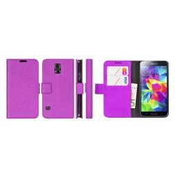 Samsung Galaxy S5 Mini - Preklopna torbica (WL) - vijolična