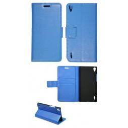 Huawei Ascend P7 - Preklopna torbica (WL) - modra