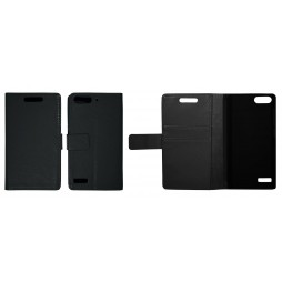 Huawei Ascend G6 - Preklopna torbica (WL) - črna
