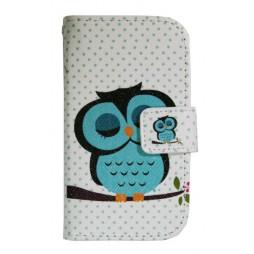 LG L40 - Preklopna torbica (WLGP) - Blue owl