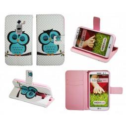 LG G2 mini - Preklopna torbica (WLGP) - Blue owl