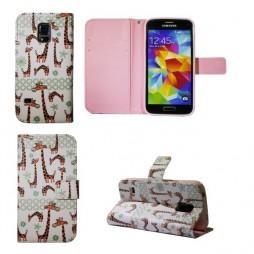 Samsung Galaxy S5 Mini - Preklopna torbica (WLGP) - Giraffe