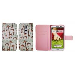LG G2 mini - Preklopna torbica (WLGP) - Giraffe