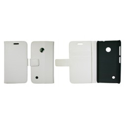 Nokia Lumia 530 - Preklopna torbica (WL) - bela
