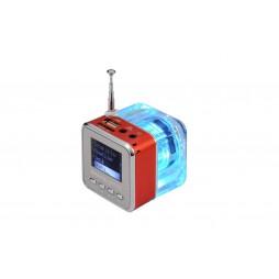 Multifunkcijski zvočnik MP3 - rdeča (TT029)
